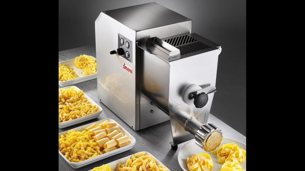 Sirman concerto 5 macchina per pasta fresca youtube - Impastatrice per pasta fatta in casa ...