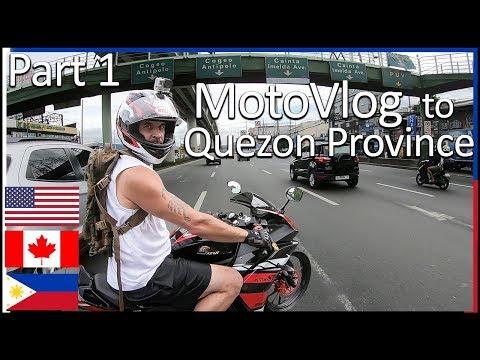 MotoVlog to Quezon Province - Part 1
