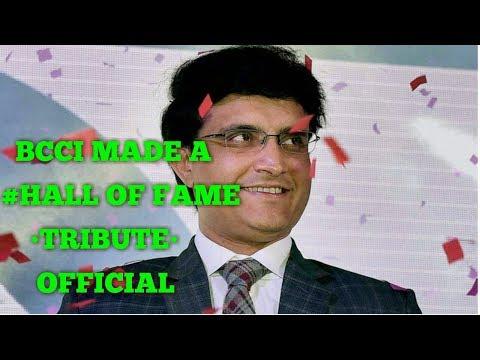 Sourav Ganguly •Hall Of...