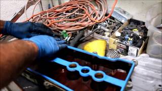 Valve Cover Oil Leak Repaired - Corolla