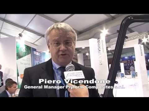 Piero Vicendone, General Manager Plyform Composites - Torino Piemonte Aerospace Farnborough 2014
