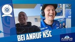 Bei Anruf KSC mit Damian Roßbach