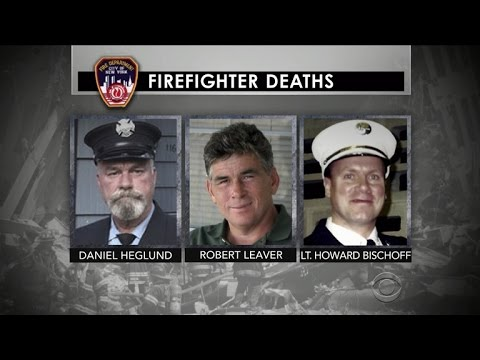 Three 9/11 firefighters die on the same day of cancer