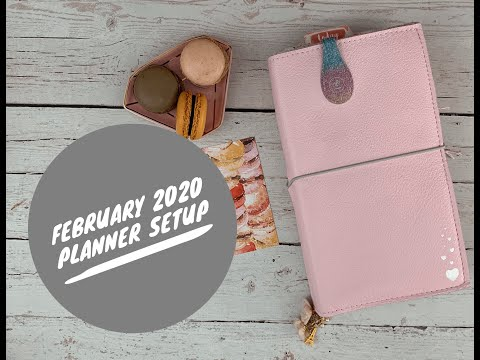 February Planner Set-up #cocoadaisy #plannersetup #lovenotes