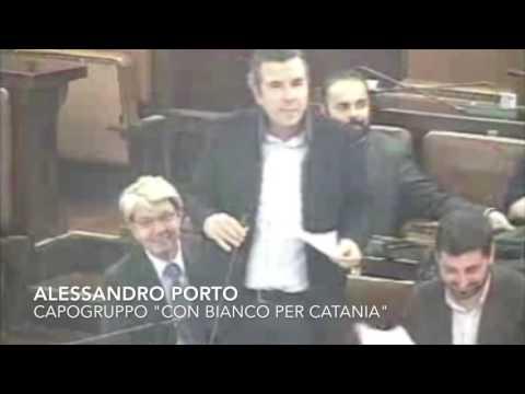 """Bilancio 2016 Alessandro Porto capogruppo """"Con Banco per Catania"""""""
