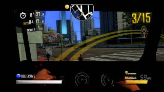 Driver: San Francisco Deluxe [PC] - Relay race (first person view)