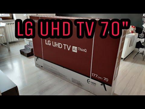 """LG UHD TV 70"""" 4K UHD"""