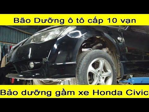 Bảo dưỡng xe ô tô Định kỳ đúng cách  Bảo dưỡng gầm xe Honda Civic cấp 100.000km