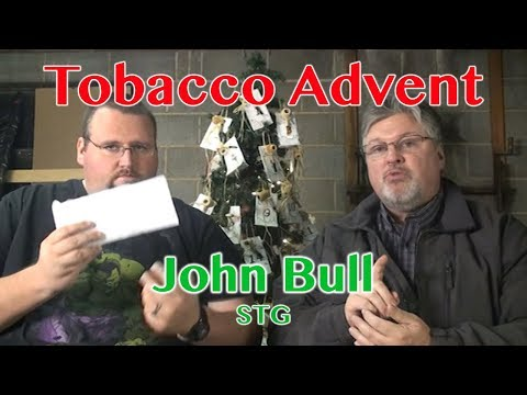 "2017 Tobacco Advent: Day 25 (John Bull ""Royal English"") MERRY CHRISTMAS!"