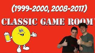 Classic Game Room Inтro (1999-2000, 2008-2017)