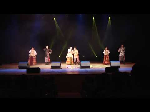 """Cheerful Russian folk song and music from the group-ensemble """"Tsveten"""" - merchant"""