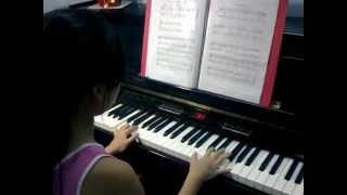 Greensleeves( Thiên Ân trình bày Piano 18.11.2012)