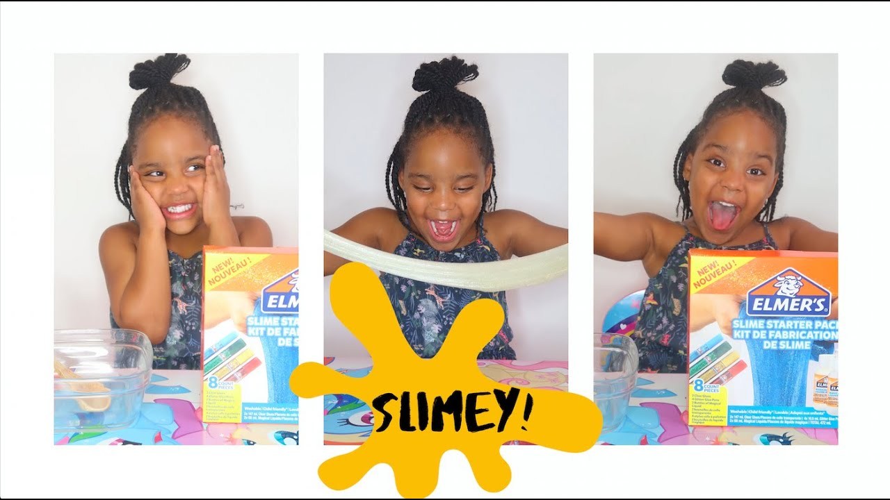 GABRIELLA MAKES SLIME FOR THE FIRST TIME!