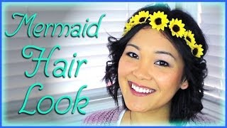 Mermaid Hair Look | Lazy Girls' Guide to Beauty
