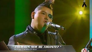 Frank Diaz - Quieres Ser Mi Amante - La Voz Mexico 2014 - LOS PLAYOFF 30 de Noviembre