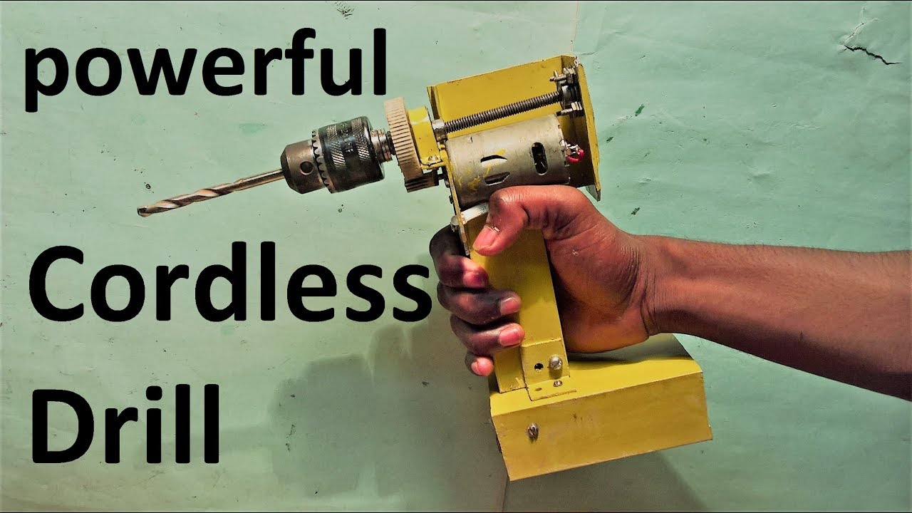 Ful Cordless Drill Make At Home Et Discover