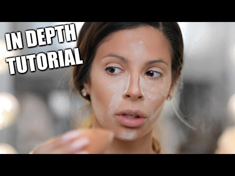 Flawless Full Face Coverage Foundation Routine
