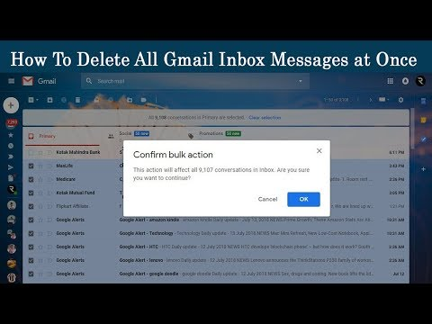 How to Delete all Gmail Inbox Messages at Once 2018