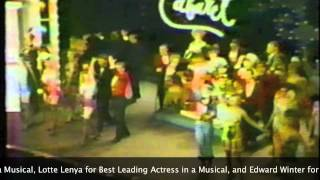 The Tony Awards - 1967 Broadway Musical Highlights Video