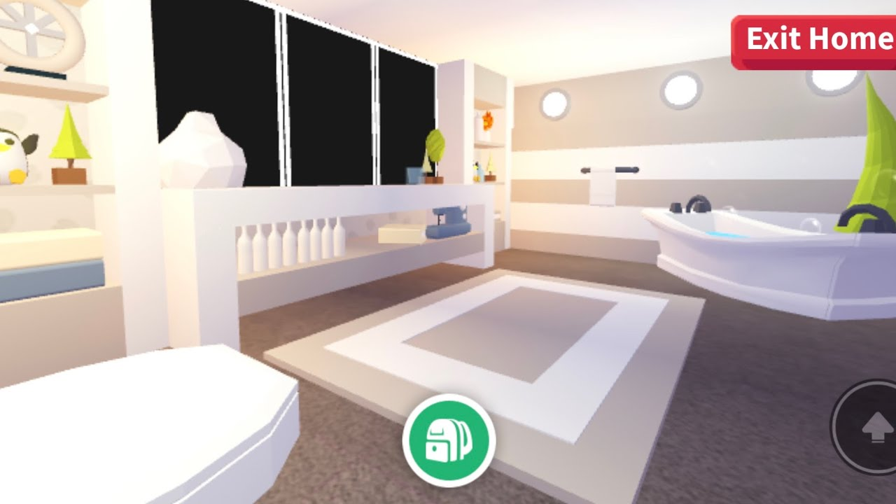 Bathroom Roblox Adopt Me House Ideas Adopt Me Bathroom Build Estate Youtube