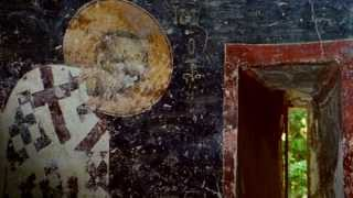 иконы и роспись Охрида Византии храма св.Софии(, 2013-10-09T07:53:04.000Z)