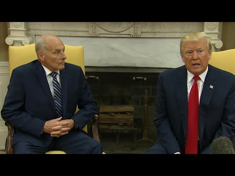 John Kelly sworn in as White House chief of staff