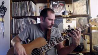 Aja by Steely Dan / Acoustic bass version