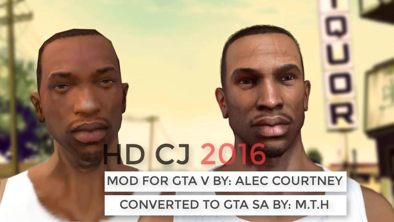 GTA SA| HD CJ 2017 MTH