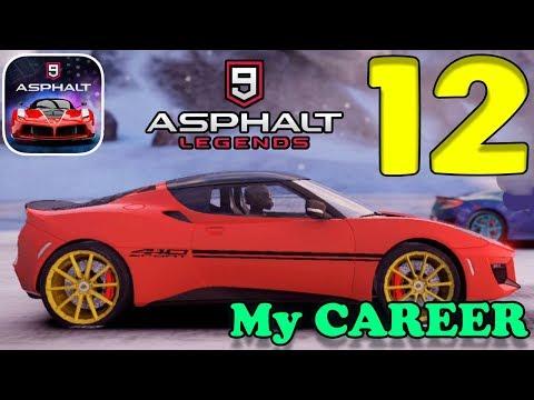 ASPHALT 9 LEGENDS - MY CAREER GAMEPLAY - PART 12 - 동영상