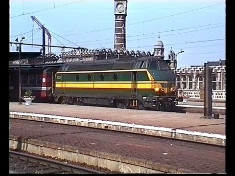 NMBS/SNCB Class 62 diesel locomotives