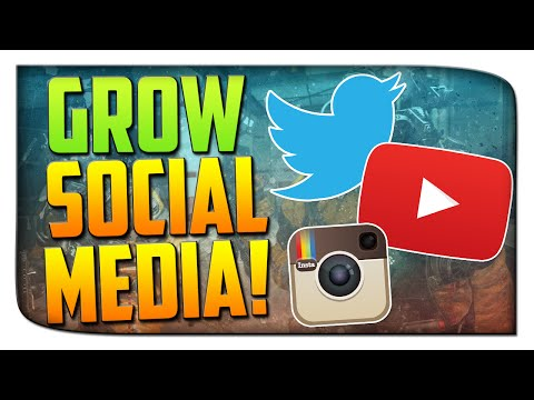 """Methods to Grow : """"How To Gain Subscribers and Twitter Followers"""" - Growing Social Media!"""