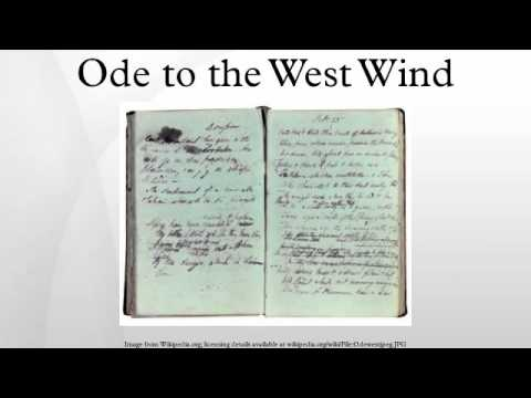 ode to the west wind pdf