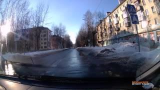 г.Северодвинск, о.Ягры, ул.Логинова. 11.03.2017г.