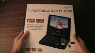 SUPERSONIC Portable DVD Player Model SC-178 DVD (Small Review)