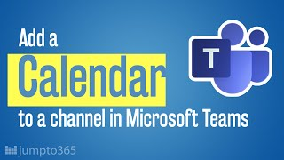 How channel calendars in Microsoft Teams work