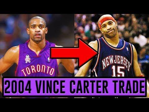 NBA Trade Rewind: The 2004 Vince Carter Trade - 동영상