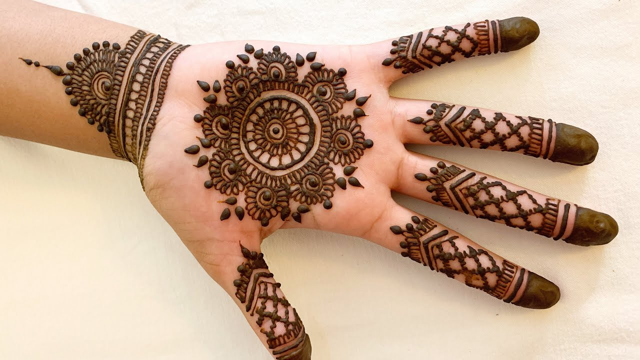 Mehandi Design For Palm