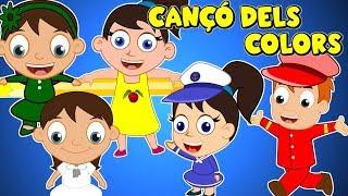CANÇÓ DELS COLORS | Colors Song in Catalan | Cançons Infantils