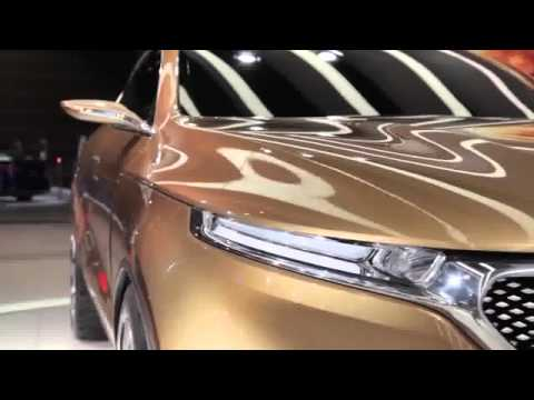 2015 car promotion Kia Cross GT Concept 2013 Chicago Auto Show