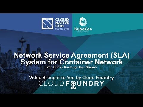 Network Service Agreement (SLA) System for Container Network by Yan Sun & Xuefeng Han, Huawei