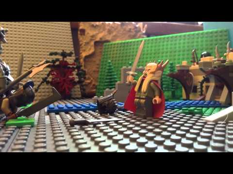 Lego LOTR-Never Talk Too Much (Лего Мультик)