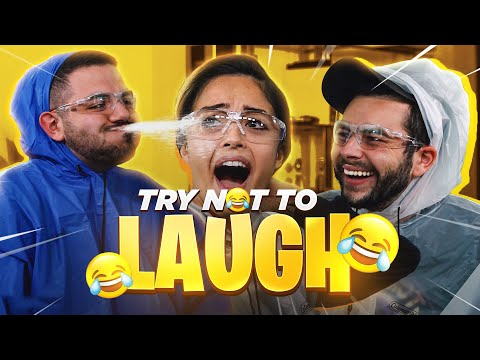 Try Not To Laugh Challenge ft. Nadeshot, CouRage, Valkyrae, BrookeAB