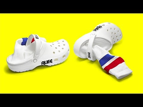 Crocs with Socks Attached to Them, Fanny Pack Nikes + More Stories Trending Now