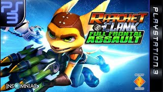 Longplay of Ratchet & Clank: Full Frontal Assault