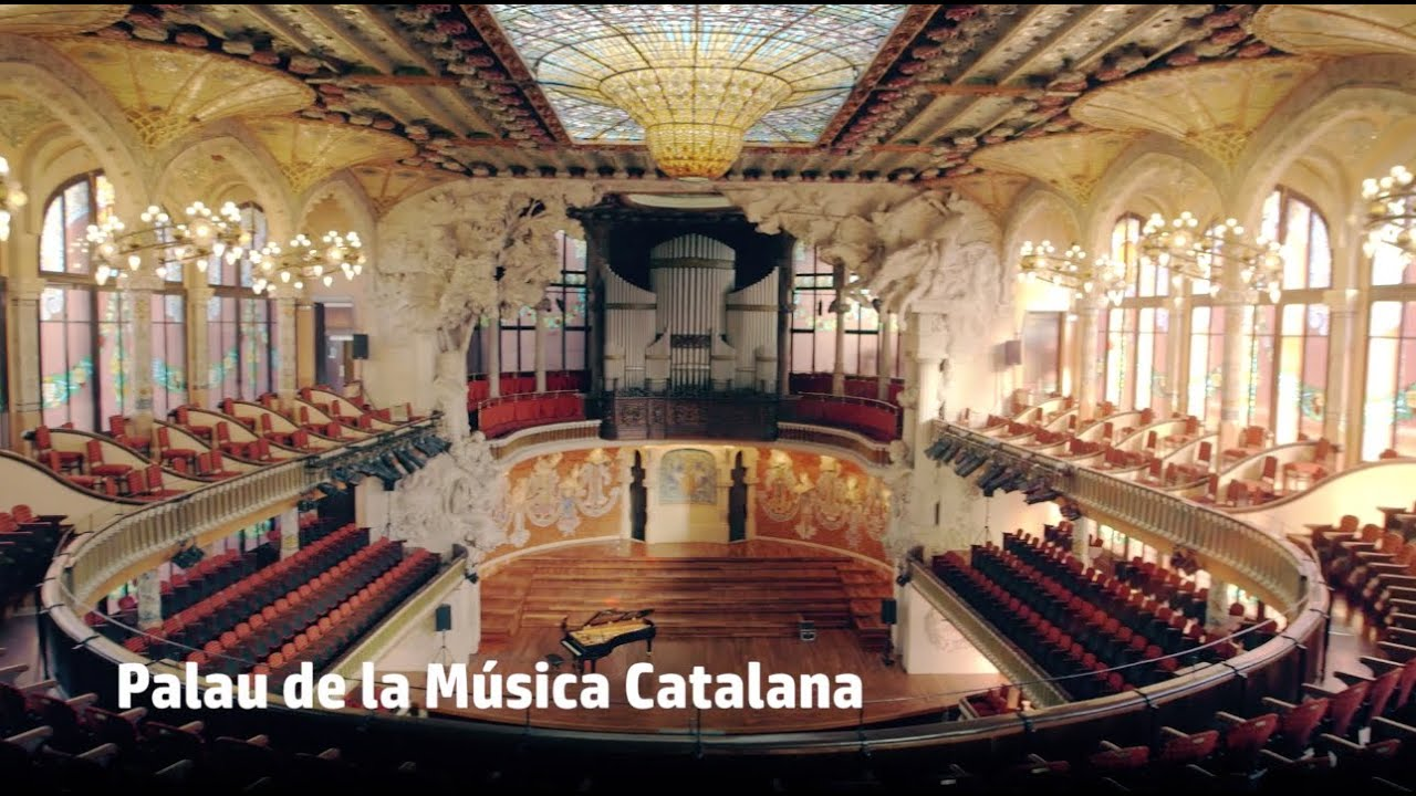 Hp Palau De La Música Barcelona Spain Youtube
