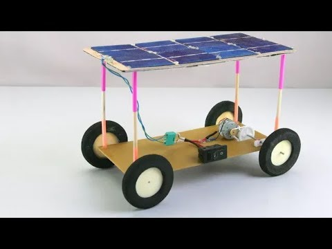 How To Make A Solar Car--MINI PROJECT