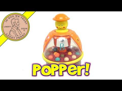 B. Poppitoppy Spinning Ball Top Popper Baby Toy, By Battat