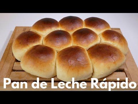 Pan De Leche Rápido Receta Fácil Paso A Paso Youtube