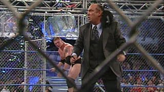 Brock Lesnar vs. Paul Heyman: Steel Cage Match - SmackDown: March 6, 2003