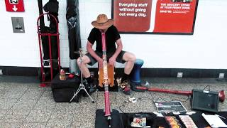 Great Street Musician - StreetMule - New York Union Square